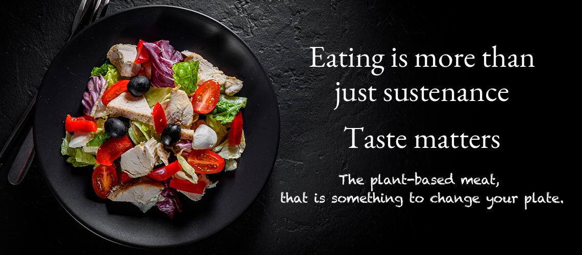 Eating is more than just sustenance Taste matters