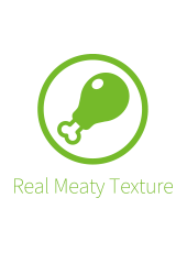 Real Meaty Texture