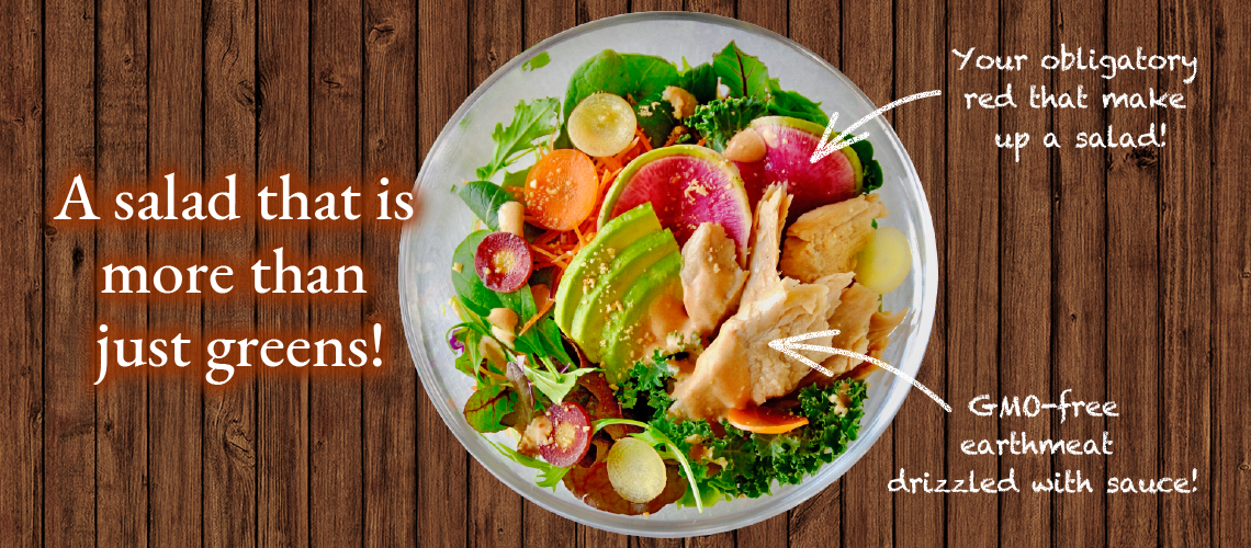 A salad that is more than just greens!